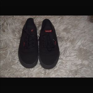 Levi black sneakers